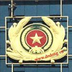 Huy hiệu công an bằng đồng được chạm đồng vàng nổi 3d đường nét đẹp được sơn màu đỏ màu xanh rất ý nghĩa và tôn vinh vẻ đẹp các ban ngành công an thành phố logo huy hiệu bằng đồng .
