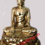 Đúc tượng phật thích ca bằng đồng đẹp đúc đồng nguyên khối đường nét hoa văn tinh xảo thờ cúng tại gia đình đền chùa cúng tiến