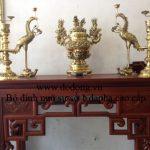 Đồ đồng dapha đại phát được khách hàng biết đến bởi chất lượng đồ thờ cúng bằng đồng cao cấp