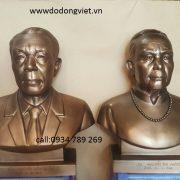 Tượng chân dung - tượng bán thân - đúc tượng chân dung đúc mỹ nghệ thủ công đường nét hoa văn tinh xảo tạc tượng cho người còn sống trưng bày phòng khách
