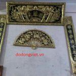 Hoành Phi Câu Đối Bằng Đồng là một trong những món thờ cúng tâm linh  thường được treo tại các phòng thờ