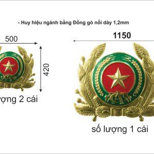 Logo huy hiệu bằng đồng - Cửa hàng nhận làm logo huy hiệu bằng đồng