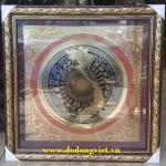mặt trống đồng ăn mòn hình bản đồ việt nam lam đồng rất tinh xảo làm quà tặng trang trí phòng khách.phòng làm việc ý nghĩa và sang trọng