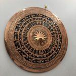 Mặt trống đồng trang trí phòng họp phòng làm việc mang ý nghĩa nét lịch sử văn hóa việt nam .mặt trống đồng trang trí phòng khách ý nghĩa văn hóa việt mặt trống gò đồng đỏ
