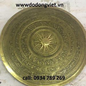 Mặt trống đồng chạm nổi là món qùa tặng  ý nghĩa .địa chỉ bán mặt trống đồng tại hcm .mặt trống đồng mạ vàng quà tặng cao cấp và sang trọng mặt trống quà tặng