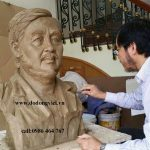 cơ sở đúc tượng đồng chân dung bằng đồng