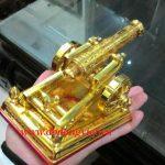 Pháo thần công mạ vàng