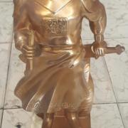 Tượng đồng trần hưng đạo làm quà tặng trang trí phòng khách