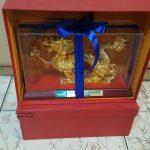 Tượng rồng phong thủy mang lại sự may mắn tài lộc cho người tuổi thìn  làm quà lưu niệm .tượng rồng bằng đồng mạ vàng cao cấp linh vật phong thủy tượng rồng