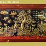 Đồ đồng việt chuyên nhận đặt các loại tranh đồng mỹ nghệ
