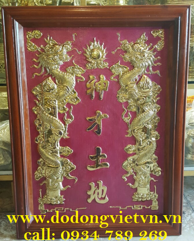bài vị bằng đồng thờ cúng mang lại tâm linh cao trong việc buôn bán