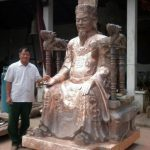Tượng đồng Nguyễn Trãi cao 50cm